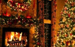 Karácsonyi kandallók